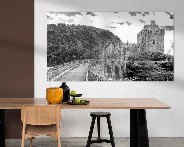 Sfeerimpressie: Eilean Donan Castle 2 van Jan Enthoven Fotografie