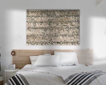 Gravuren in Sanskrit von Affect Fotografie