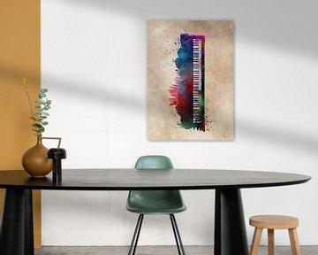 Keyboard Klavier Musikinstrument Kunst #Tastatur #Klavier von JBJart Justyna Jaszke