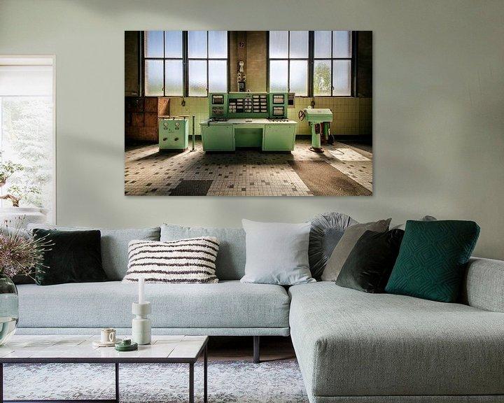 Beispiel: Grüner Kontrollraum von Vivian Teuns