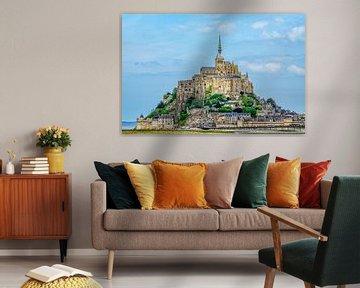 Mont Saint-Michel .... van Robert Van Der Linde