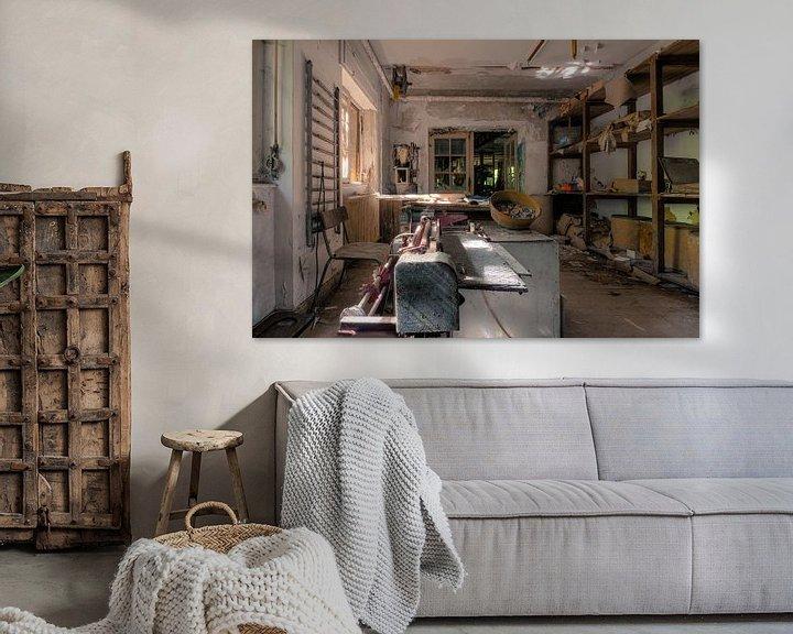 Beispiel: Verlassene Werkstatt von Vivian Teuns