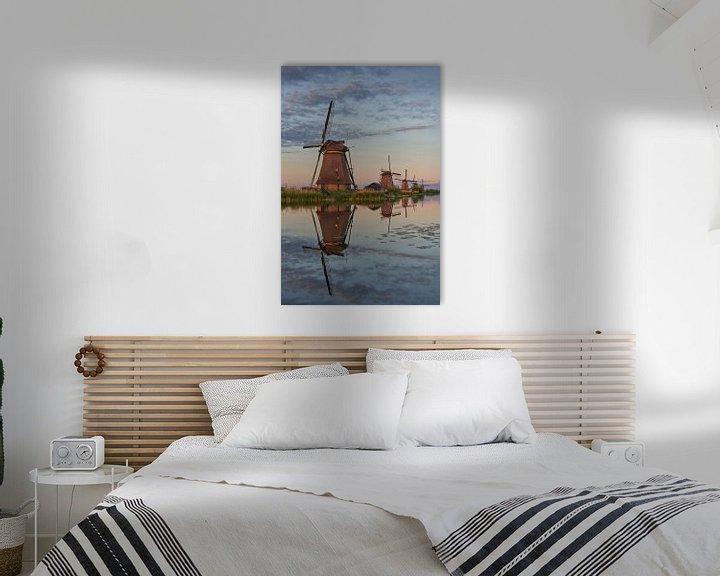 Beispiel: Kinderdijk Windmühlen Unesco-Weltkulturerbe von EdsCaptures fotografie