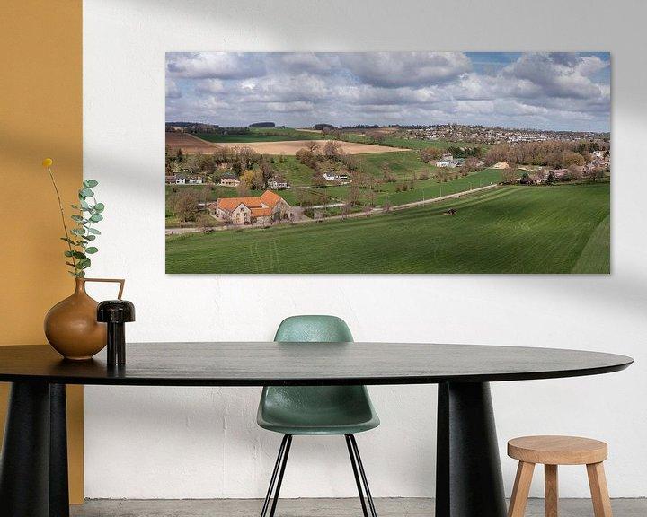 Sfeerimpressie: Luchtfoto van Bulkumsbroek en het Hulsveld in Simpelveld van John Kreukniet