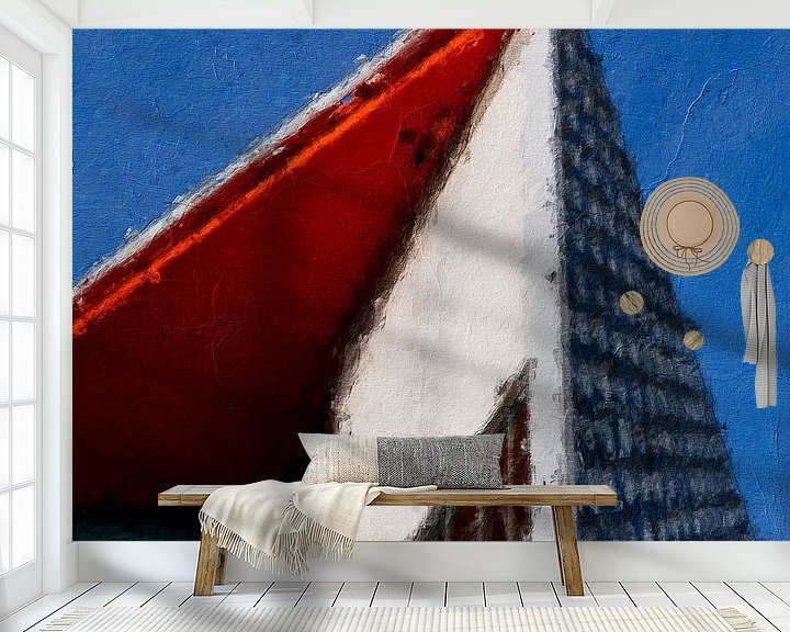 Sfeerimpressie behang: TivoliVredenburg Utrecht van Peter Bontan Fotografie