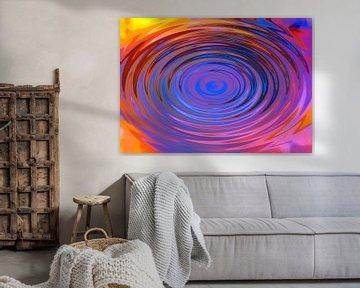Neon vortex van Wieland Teixeira