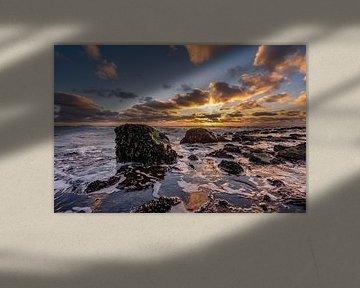 Pôle Texel 15 coucher de soleil