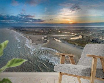 Slufter Texel Sonnenaufgang von Texel360Fotografie Richard Heerschap