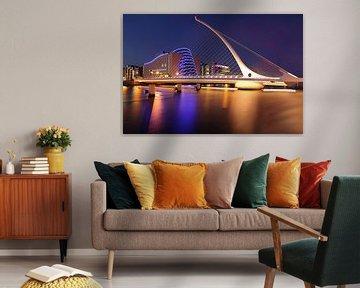 Samuel Beckett Brücke Dublin von Patrick Lohmüller