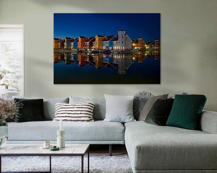 Sfeerimpressie: Reitdiephaven in Groningen van Anton Osinga