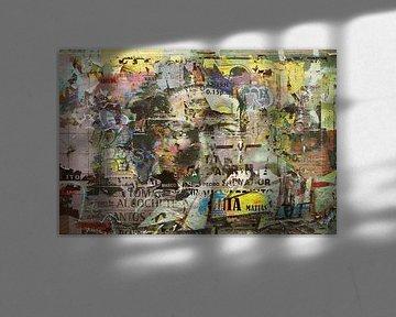 Street wall painting van Rudy en Gisela Schlechter