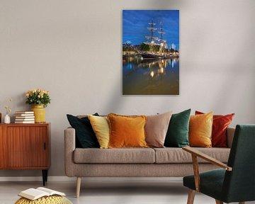 Segelschiff Morgenster in Leuvehaven Rotterdam von EdsCaptures fotografie