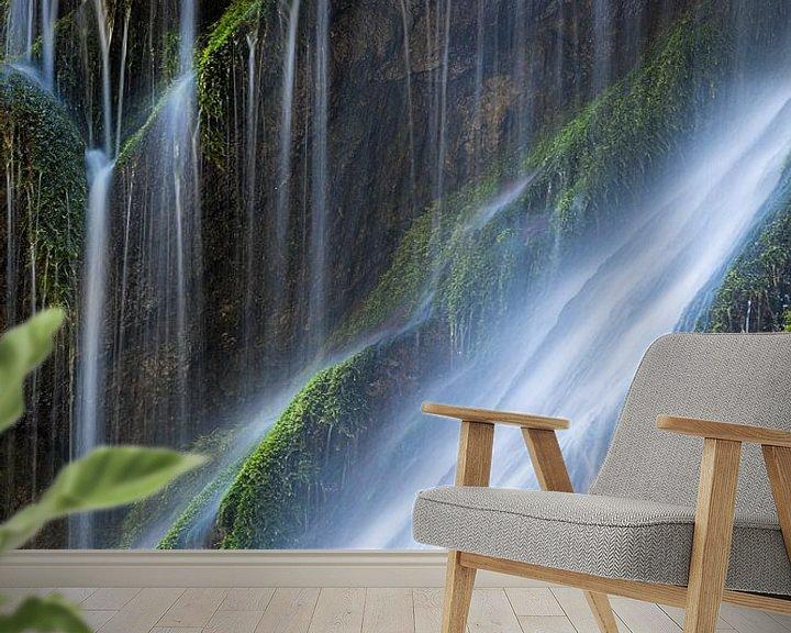 Sfeerimpressie behang: Water in een ravijn van Tilo Grellmann | Photography