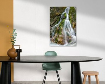 Waterval in de Wimbachklamm van Tilo Grellmann | Photography