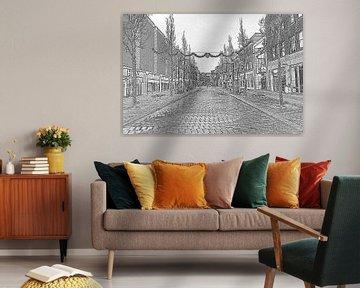 Bagijnhof Dordrecht van Henk Hartzheim
