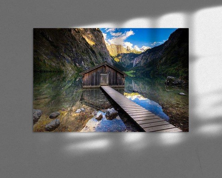 Sfeerimpressie: Boothuis aan de Obersee van Tilo Grellmann | Photography