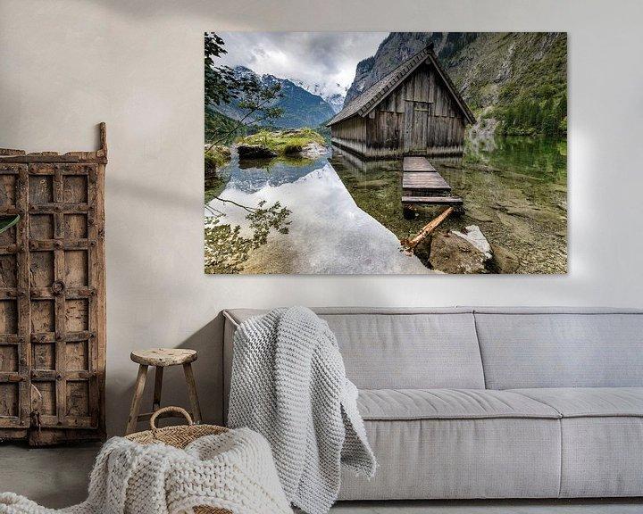 Impression: Hangar à bateaux à l'Obersee sur Tilo Grellmann | Photography