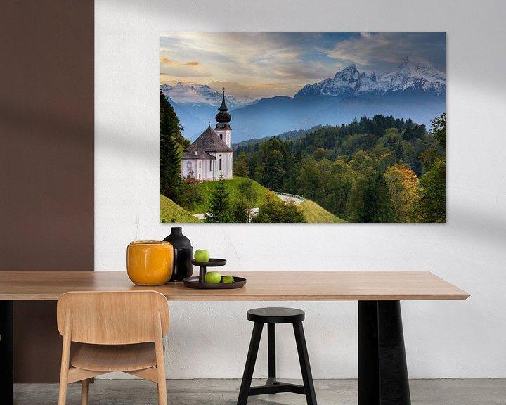 Sfeerimpressie: Bedevaartskerk Maria Gern van Tilo Grellmann | Photography