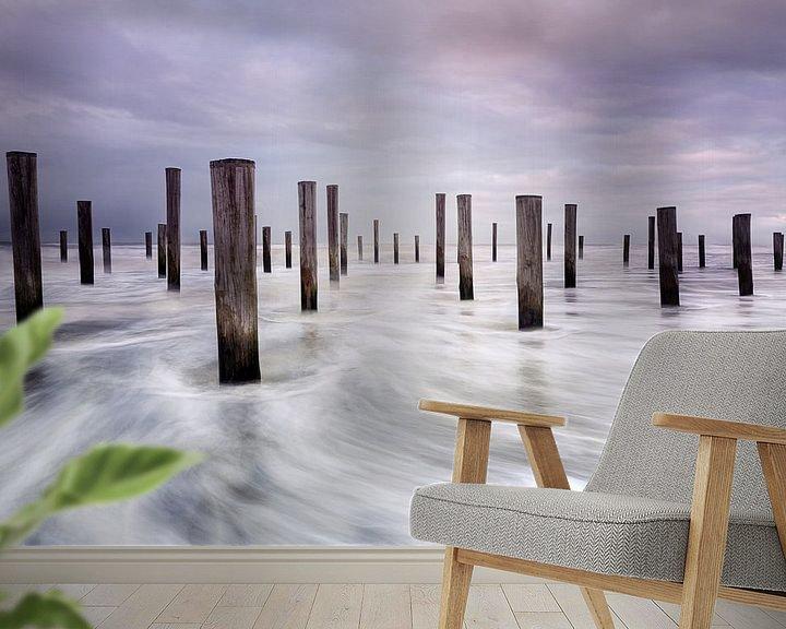 Sfeerimpressie behang: Palendorp Petten van Monique van Genderen (in2pictures.nl fotografie)
