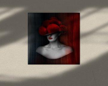 Zwarte Woud Dame ART 1.0 van Ingo Laue