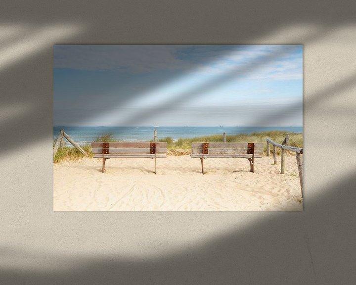 Sfeerimpressie: Rustplaats aan zee van Monique van Genderen (in2pictures.nl fotografie)