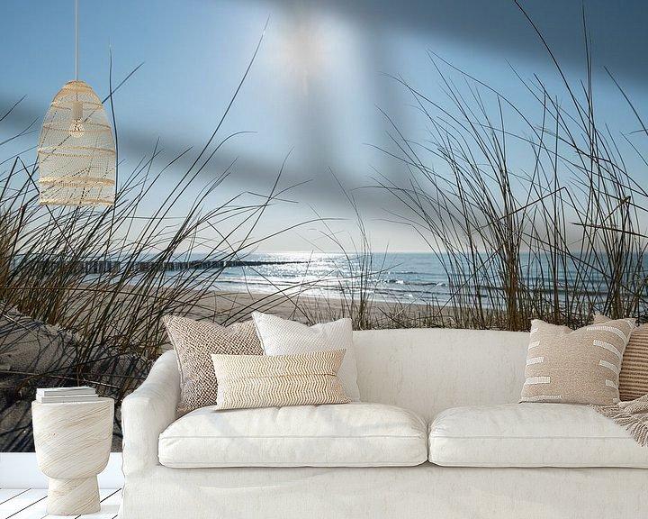 Sfeerimpressie behang: At the beach van Jaco Verheul