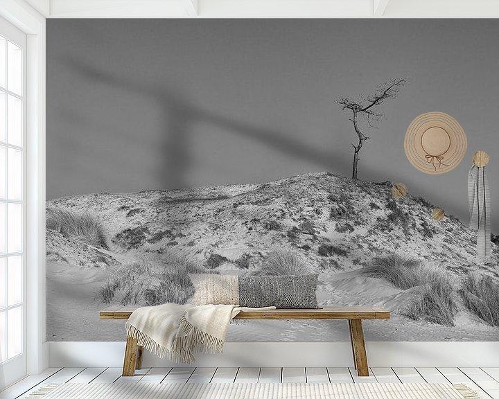 Beispiel fototapete: Einsam an der Spitze von Jaco Verheul