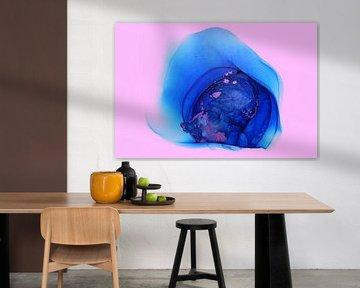 Blau Rosa/Blau Rosa/Blau Roa/ Bleu Rose von Joke Gorter