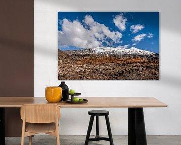 Mont Ruapehu dans le parc national de Tongariro, Nouvelle-Zélande sur Christian Müringer