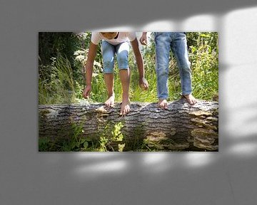 Kinder in der Natur von Janine Bekker Photography