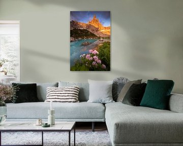 Der See von Sorapis von Sven Broeckx