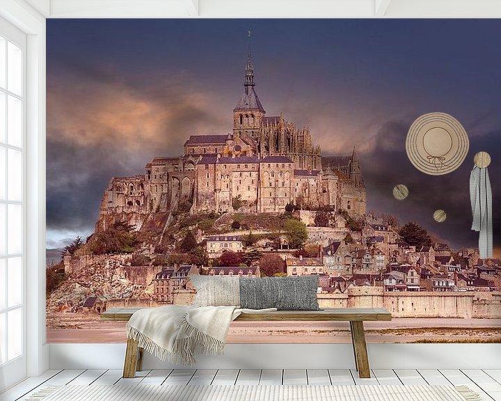 Beispiel fototapete: Le Mont-Saint-Michel in France von Andreas Wemmje