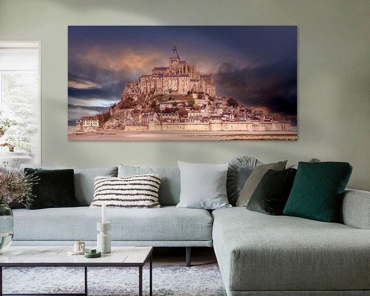Beispiel: Le Mont-Saint-Michel in France von Andreas Wemmje