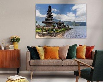 Ulun Danu-Tempel auf Bali, Indonesien von Marc Venema