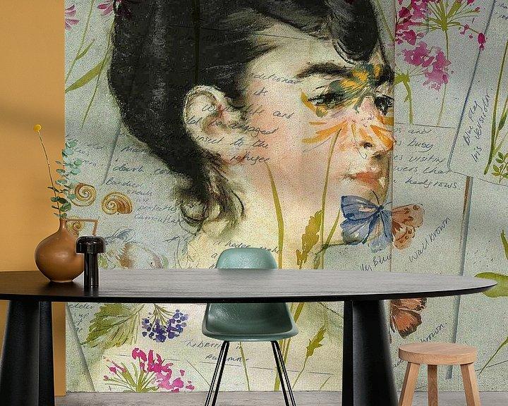 Beispiel fototapete: Mademoiselle Isabelle von Gabi Hampe