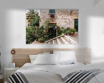 Italiaanse deur | Botanische deur van Arma Kremers