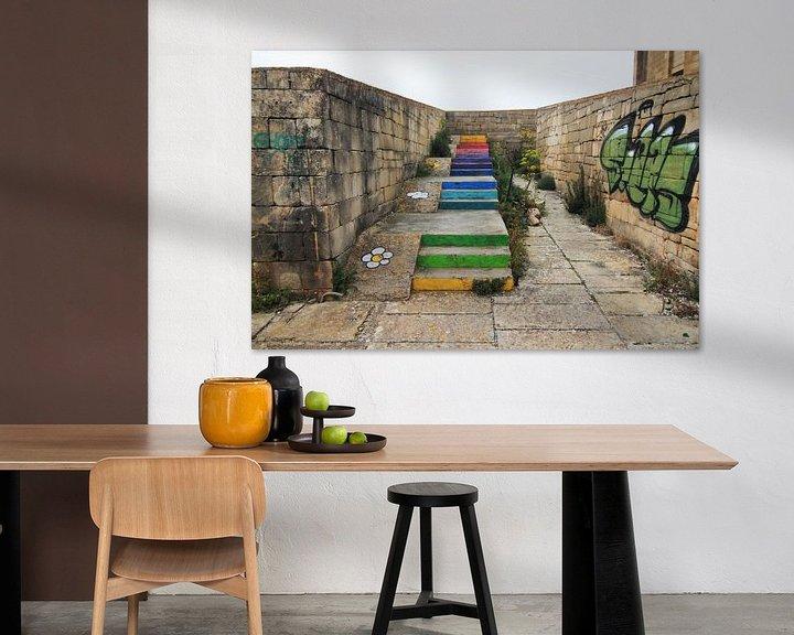 Beispiel: Die Treppe zum Regenbogen von ilja van rijswijk