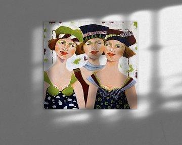 Drei Damen von Eveline van Rooy