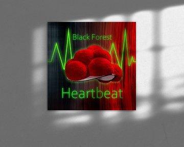 Black Forest Heartbeat Schwarzwald ART 1.0 von Ingo Laue