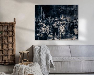 Nachtwache mit einem Twist von Rene Ladenius Digital Art