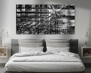 Matrix Panorama Noir Blanc