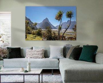 Milford Sound et Mitre Peak, Nouvelle-Zélande sur Christian Müringer