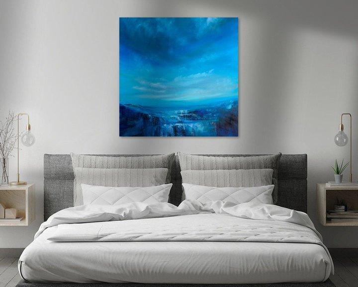 Sfeerimpressie: Blauwe breedte van Annette Schmucker