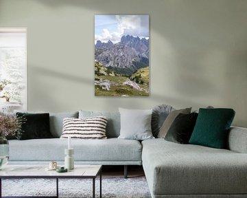 Spitz zulaufende Berge von Lynn Haverhals