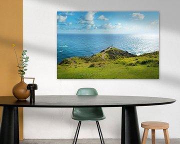 Cape Reinga, Nieuw Zeeland van Christian Müringer