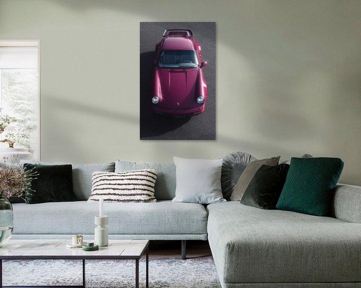 Impression: 1991 Porsche 964 Turbo Rubystone Red sur Gijs Spierings
