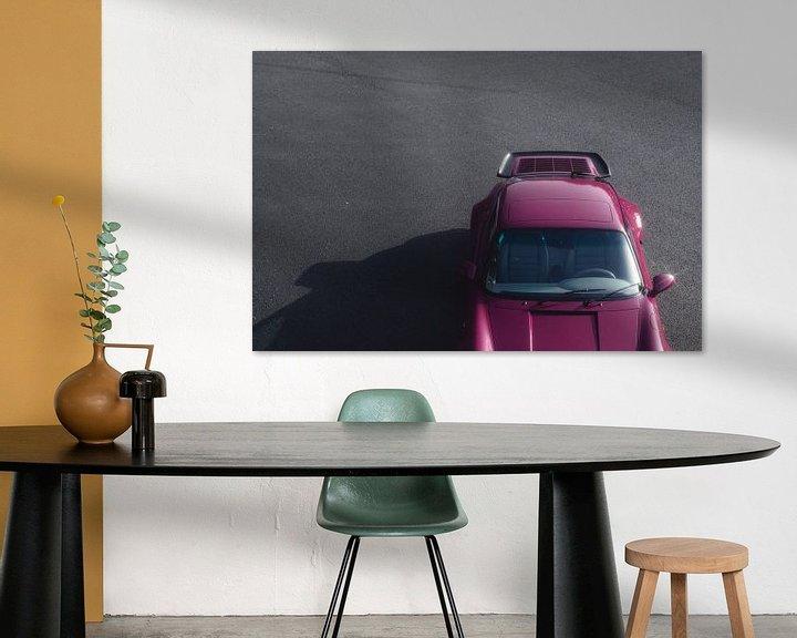 Beispiel: 1991 Porsche 964 Turbo Rubystone Red von Gijs Spierings