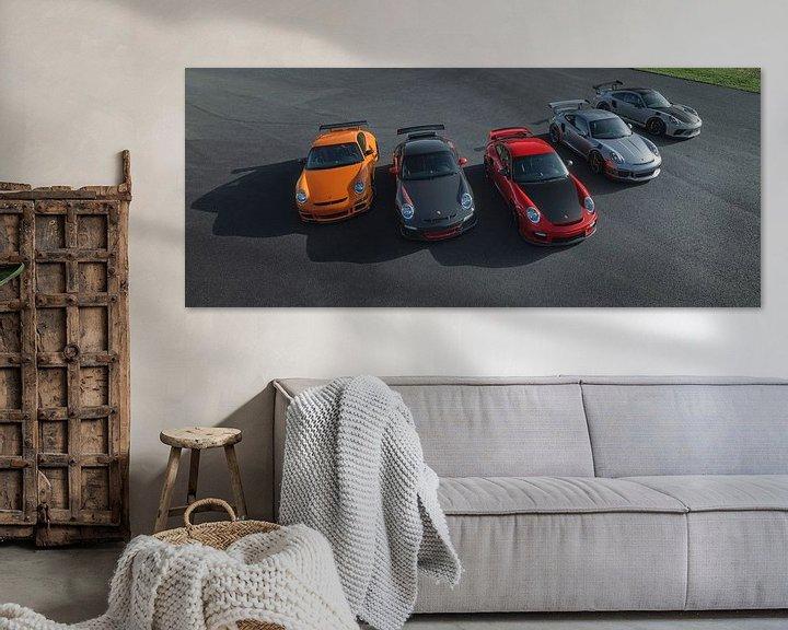 Sfeerimpressie: Porsche RS Line Up van Gijs Spierings