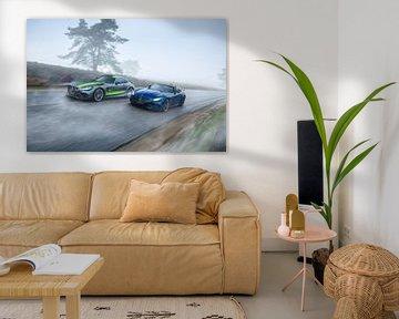 Mercedes-AMG GTR PRO & GTR Cabriolet van Gijs Spierings