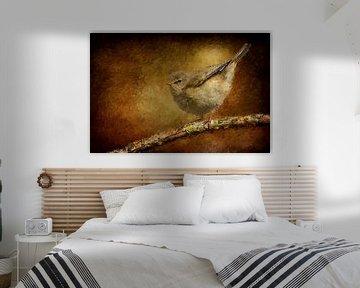 Fitis op een tak (schilderij)
